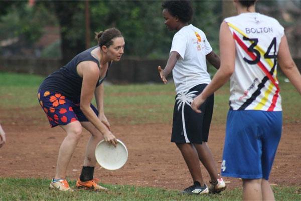 Ultimate Frisbee sport