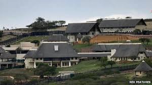 CONTROVERSIAL HOME: Zuma's Nkandla home complex
