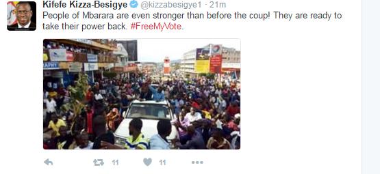 Besigye Mbarara