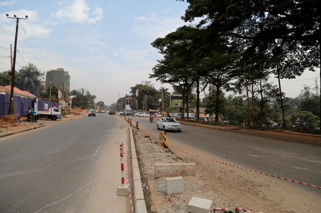 Yusuf Lule road (Alternative route).