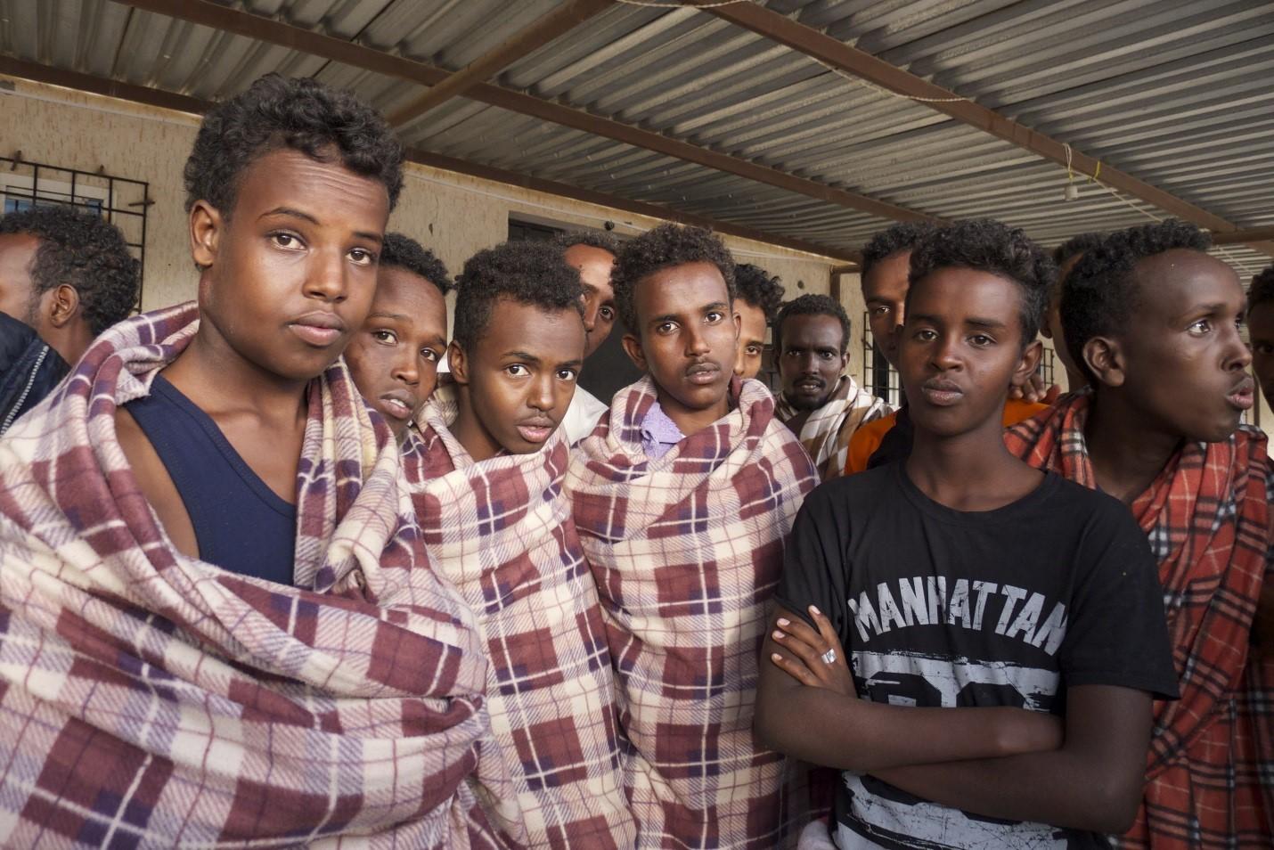 human trafficking in somalia Human trafficking flow map reset map.