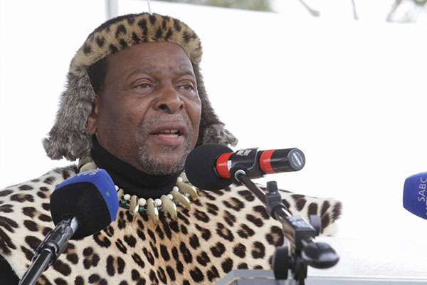 Zulu King Goodwill Zwelithini has asked for an end to violence