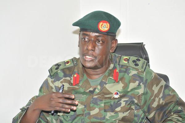 Brigadier James Mugira