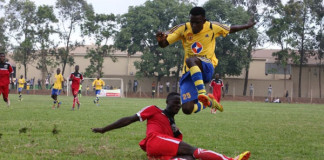 KCCA in action in Lugogo today