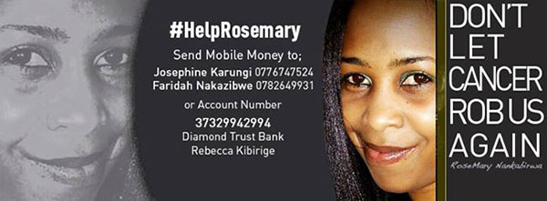 Cancer: Drive to fundraise for former NTV's Rosemary Nakabirwa on