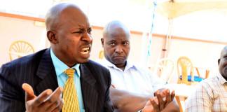 District Chairperson Shaban Nkuntu