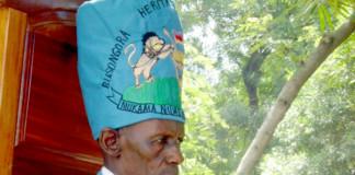 The Basongora cultural leader, Rutakirwa Ivan Bwebale.
