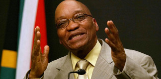 ORDERED TO WITHDRAW NOTICE OF WITHDRAWAL FROM ICC: South African President Jacob Zuma condemned the attacks