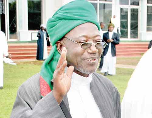 The late Zubair Kayongo