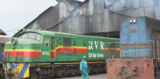 Uganda Railway old wagons