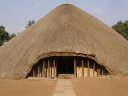 Kasubi Tombs in Kampala, Uganda