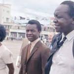 Idi Amin (right)
