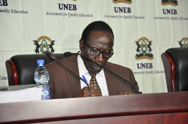 Executive Secretary Mathew Bukenya.