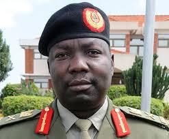 Deputy CDF Lt Gen Charles Angina