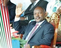 LEADING THE MOST UNHAPPY PEOPLE IN THE WORLD: Burundi President Pierre Nkurunziza