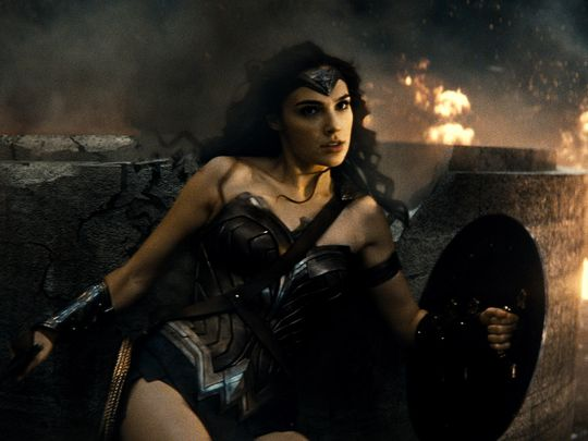 "Wonder Woman (Gal Gadot) lives for battle in ""Batman v Superman: Dawn of Justice."" (Photo: Warner Bros. Pictures)"