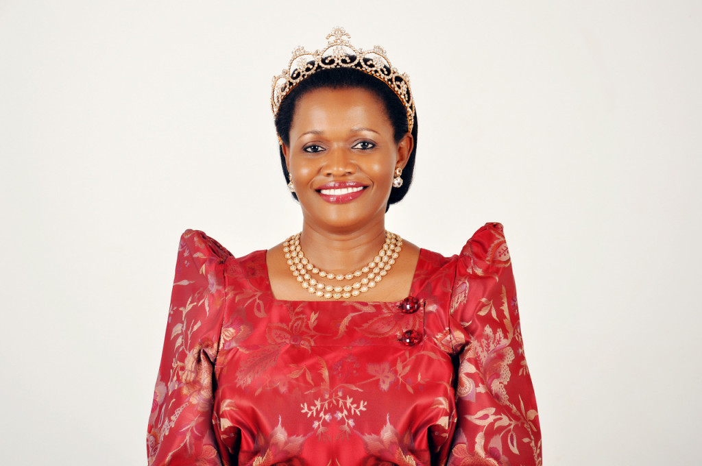 Through her reign as Queen, the Nabagereka has been vocal about women's rights