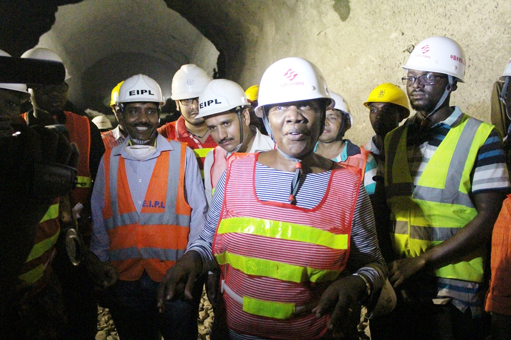 Energy Infratech bosses told Minister Muloni they have 40 staff on site that are rich with industry experience in similar projects around the world.
