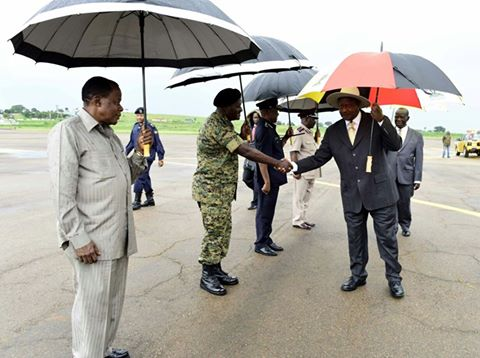 Mr Museveni was seen off by Vice President Edward Ssekandi at the VVIP Entebbe Airport. He was flanked by Head of Head of Public Service, John Mitala, Chief of Defence Forces (CDF) Gen. Katumba Wamala, Commissioner of Prisons Dr, Johnston Byabashaija and Deputy Inspector General of Police (DIGP) Okoth Ochola