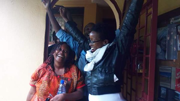 Dr. Stella Nyanzi explains the reasons for her nude