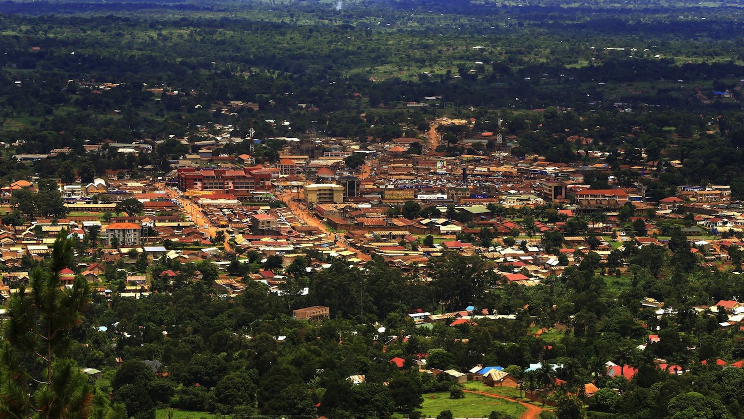Uganda's oil boom has transformed the town of Hoima (Photo/James Akena)