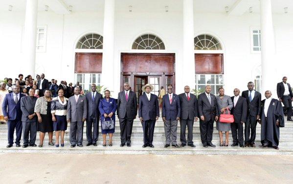Museveni High Court judges