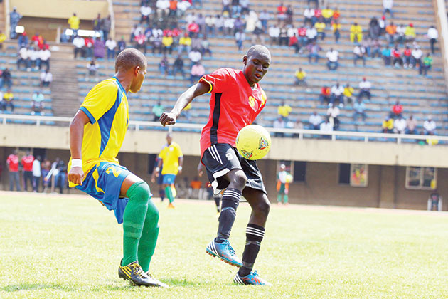 Shaban Muhammed  has been capped for Uganda at all under age levels