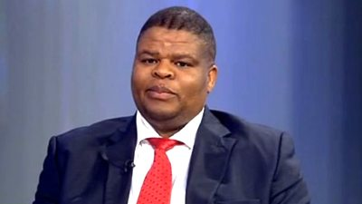 South Africa State Security Minister David Mahlobo