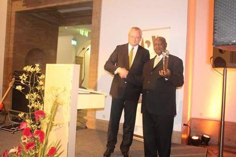 Museveni award