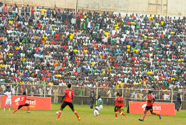 Jogoo fans can nolonger lay claim to being the loudest after a huge crowd, rarely seen at most local games, turned up to cheer Onduparaka in the Uganda Cup final.