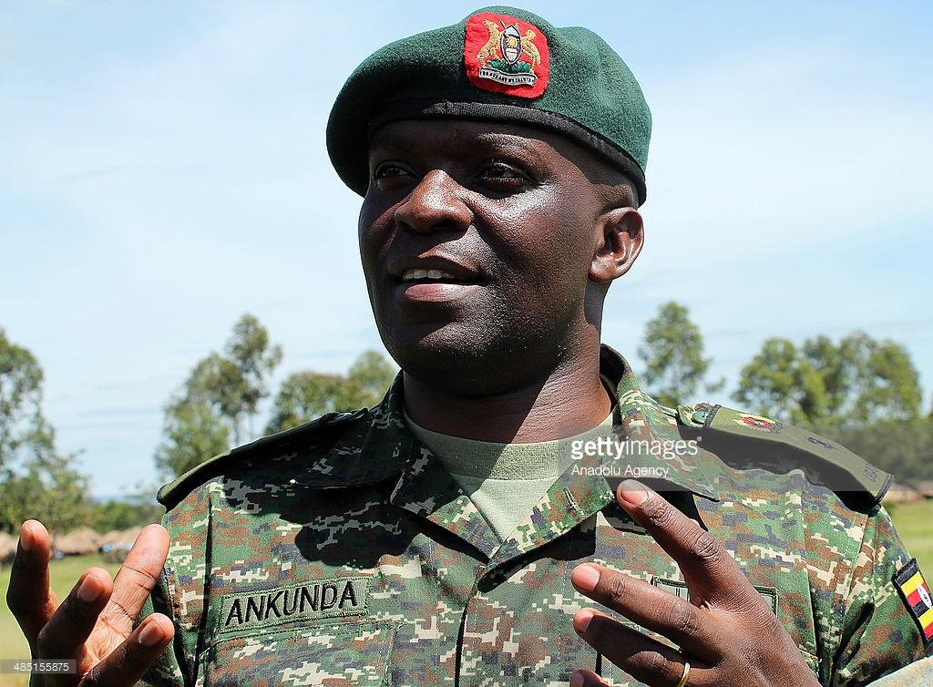 Spokesman of Uganda People Defence Forces (UPDF), Lt. Col. Paddy Ankunda