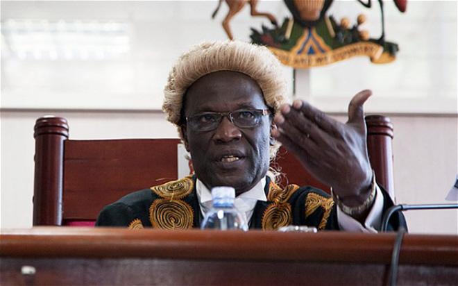 Deputy Uganda Chief Justice Steven Kavuma