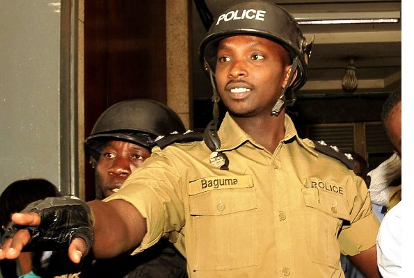 COMMITTED TO HIGH COURT: SP Aaron Baguma is accused of murder.