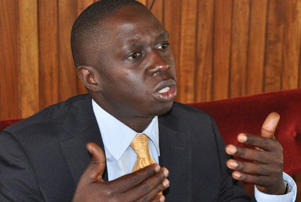REJECTED MONEY: Kampala Central MP Muhammad Nsereko