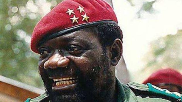 Late Angolan warlord Jonas Savimbi