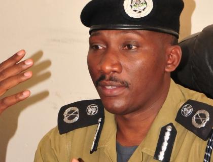 Police Spokesperson AIGP Andrew Felix Kaweesi.