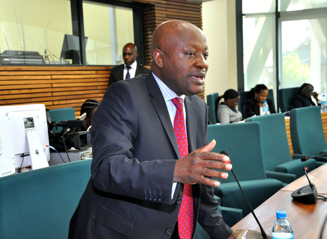 Hon Mike Sebalu supported the Resolution to amend the Treaty to make Kiswahili one of the Official languages of the EAC