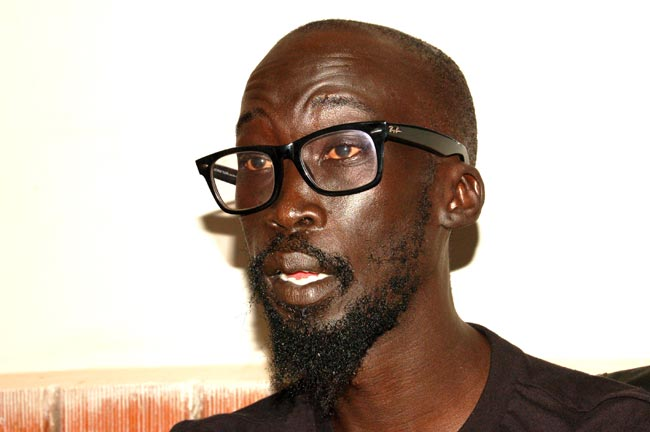 ISSUED STATEMENT: Mabior Garang de Mabior. Photo credit/upperniletimes.net