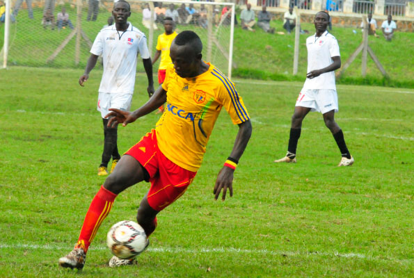 Tom Masiko insists he will be 'ready' as KCC midfielder targets Vipers clash for comeback