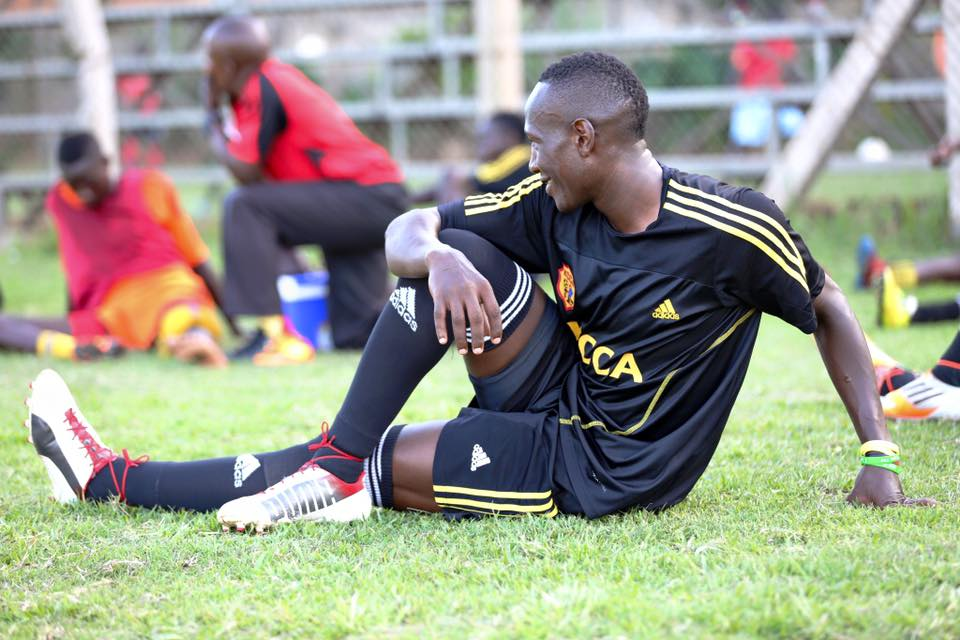 Misiko says he has been doing ball work and training for weeks but will soon be ready for action