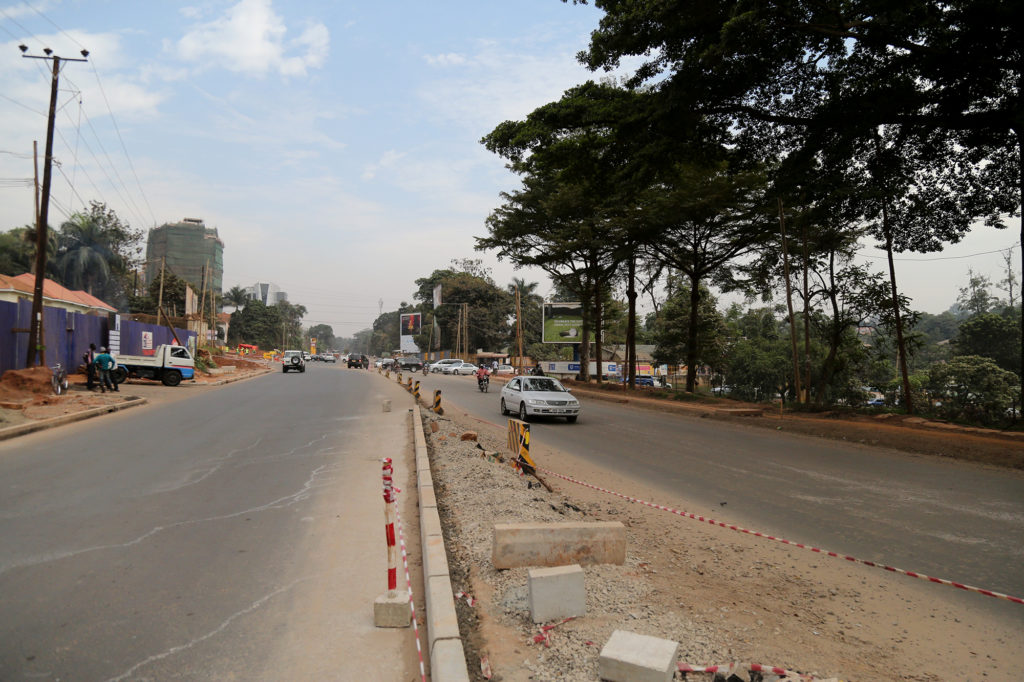 Yusuf Lule road (Alternative route).