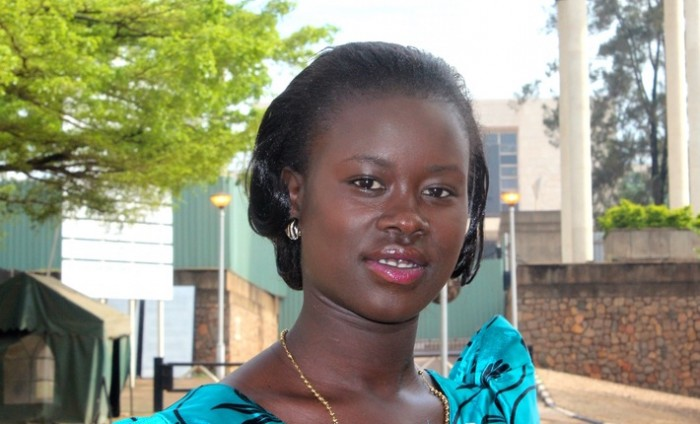 YOUNG: The youngest-ever Ugandan MP Proscovia Alengot Oromait