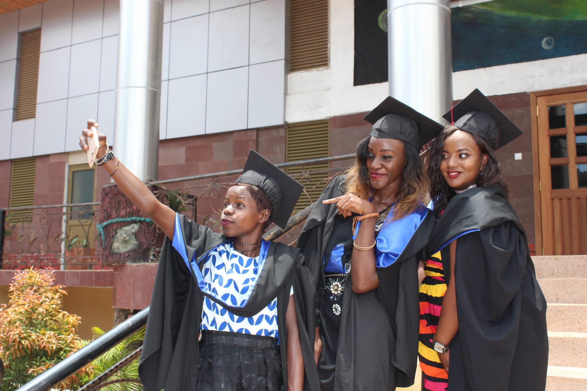 THIS IS IT: Some of the UTAMU graduates. Photo/Pius Enywaru