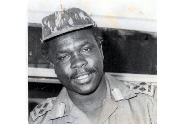 Former UNLA Chief of Staff Maj Gen David Oyite Ojok