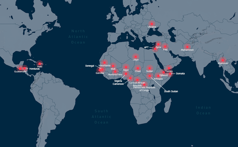 Refugee Camps Around The World Map.Us 22bn Needed By Un To Tackle Global Humanitarian Crises Eagle Online