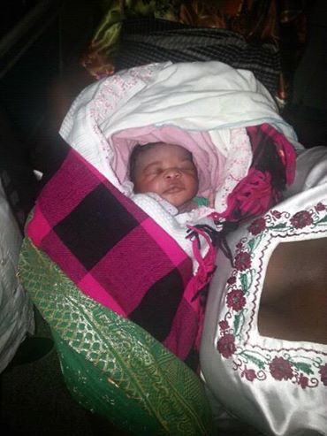 BUNDLE OF JOY: Henry Tigan's baby girl.