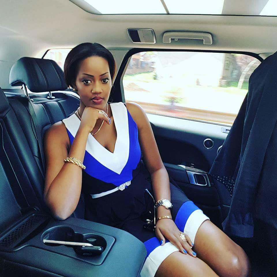 Mathew Kanyamunyu's lady friend Cynthia Munangwari
