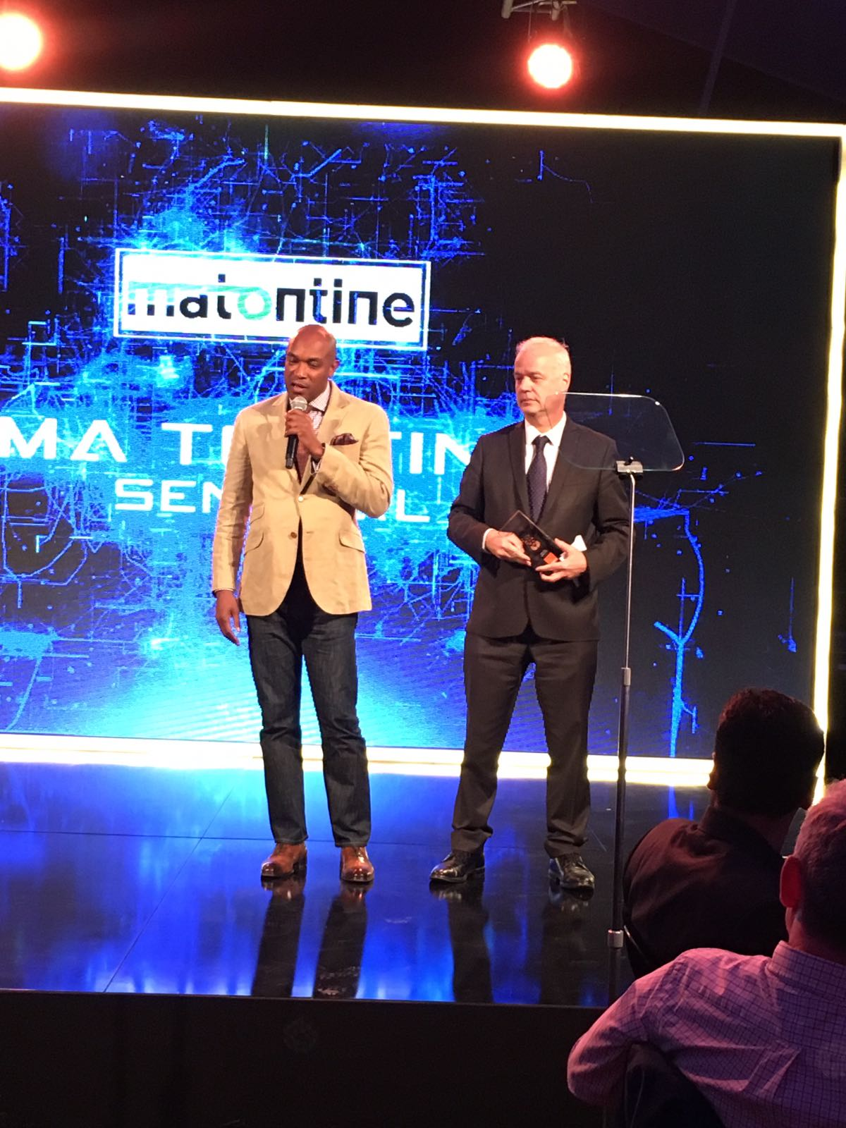 Announcing second prize winners Ma Tontine