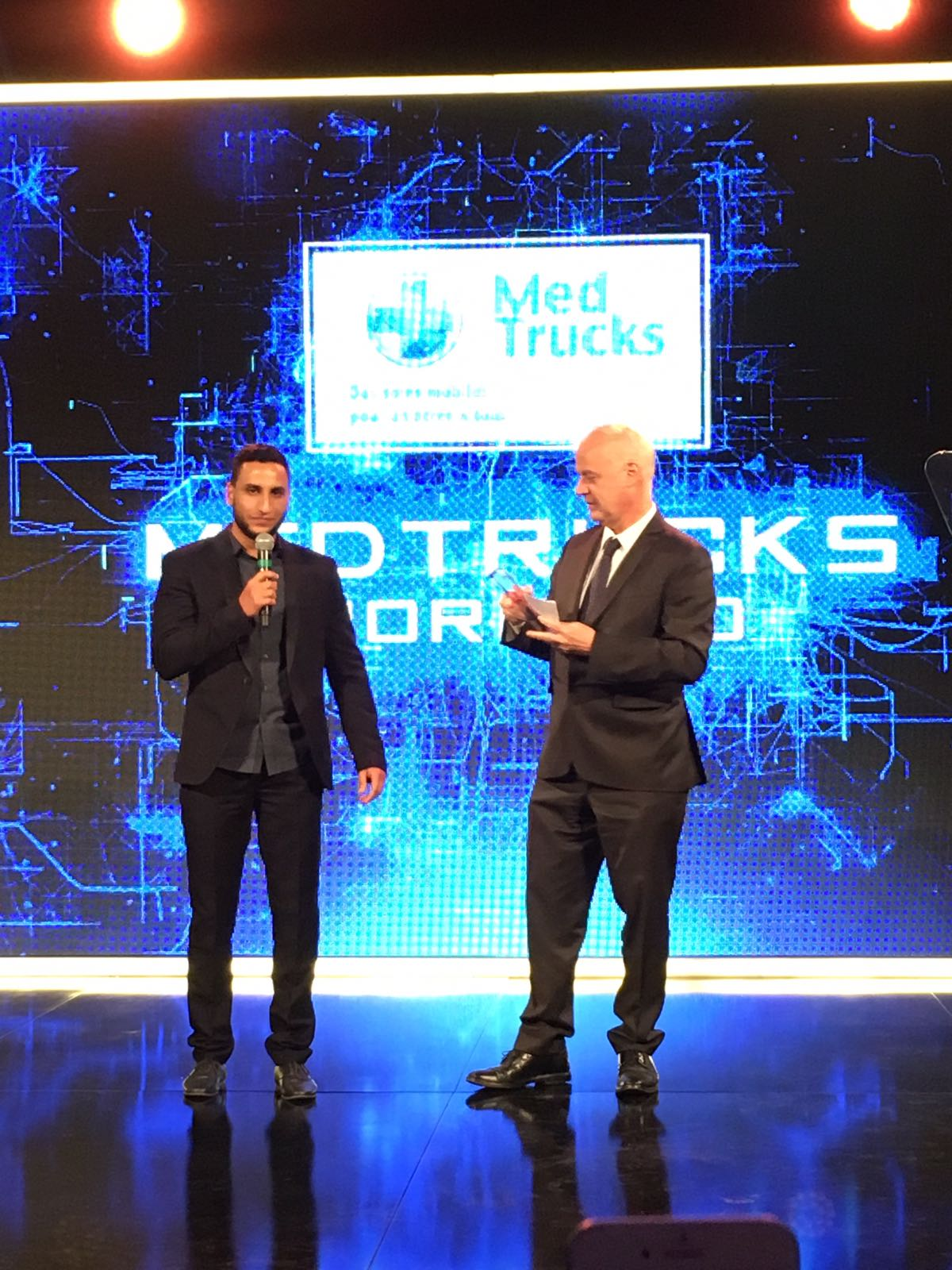 Announcing first prize winners Medtrucks