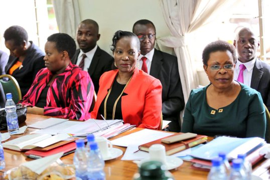 KCCA top honchos: Kampala minister Beti Kamya and the KCCA Executive Director Jennifer Musisi, their subordinates' actions have come under criticism for